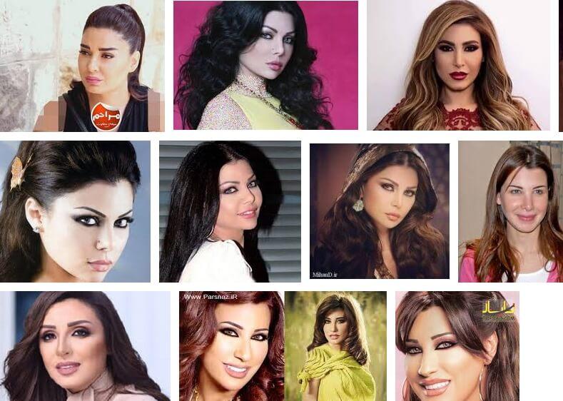 دانلود آهنگ های مشهور عربی زن